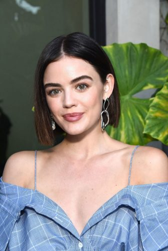 WEST HOLLYWOOD, CA - JULY 25:  Lucy Hale attends the Jonathan Simkhai opens new retail store and brand headquarters In Los Angeles event at Jonathan Simkhai on July 25, 2018 in West Hollywood, California.  (Photo by Araya Diaz/Getty Images)