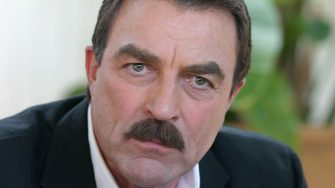 LOS ANGELES - APRIL 18:  Actor Tom Selleck makes an appearance at the office of the Hollywood Foreign Press Association (HFPA) on April 18, 2006 in Los Angeles, California. (Photo by Piyal Hosain/Fotos International/Getty Images)