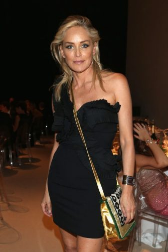 MILAN, ITALY - SEPTEMBER 22:  Sharon Stone attends the amfAR Milano 2012 After Party Presented By Fendi'O during Milan Fashion Week at La Permanente on September 22, 2012 in Milan, Italy.  (Photo by Andreas Rentz/Getty Images)