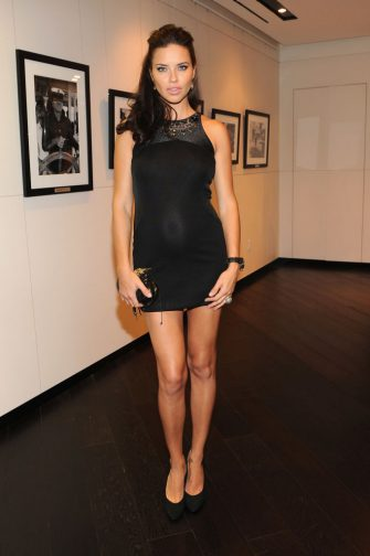 NEW YORK, NY - APRIL 25:  Model Adriana Lima attends the IWC Flagship Boutique New York City Grand Opening at IWC Boutique on April 25, 2012 in New York City.  (Photo by Larry Busacca/Getty Images for IWC)