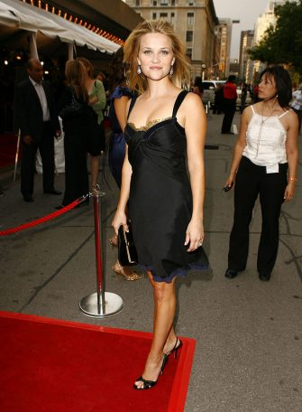 Reese Witherspoon at the Roy Thompson Hall in Toronto, Canada. (Photo by Jeff Vespa/WireImage)