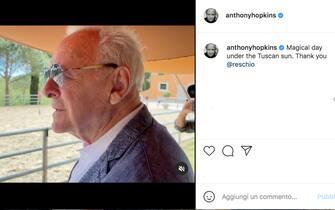 Anthony Hopkins in Toscana