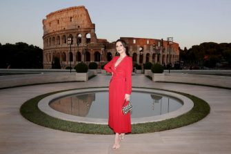 ROME, ITALY - JULY 04:  Catherine Zeta Jones attends the Cocktail at Fendi Couture Fall Winter 2019/2020 on July 04, 2019 in Rome, Italy. (Photo by Vittorio Zunino Celotto/Getty Images for Fendi)