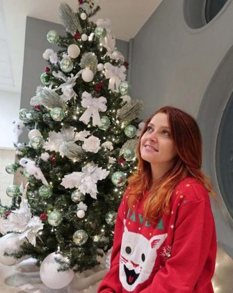 Noemi has posted a photo on Instagram with the following remarks:La tradizione vuole che i maglioni natalizi siano davvero brutti e io non potevo di certo tirarmi indietro.Voi come siete vestiti per il #ChristmasJumperDay?#christmasjumperInstagram  13/12/2019   Polo Nord Presso Casa Di Babbo NataleThis is a private photo posted on social networks and supplied by this Agency. This Agency does not claim any ownership including but not limited to copyright or license in the attached material. Fees charged by this Agency are for Agency's services only, and do not, nor are they intended to, convey to the user any ownership of copyright or license in the material. By publishing this material you expressly agree to indemnify and to hold this Agency and its directors, shareholders and employees harmless from any loss, claims, damages, demands, expenses (including legal fees), or any causes of action or allegation against this Agency arising out of or connected in any way with publication of the material. ( - 2019-12-16, private/IPASocialIT / IPA / IPA) p.s. la foto e' utilizzabile nel rispetto del contesto in cui e' stata scattata, e senza intento diffamatorio del decoro delle persone rappresentate