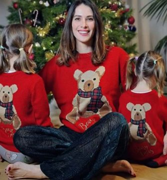 Ludovica Sauer has posted a photo on Instagram with the following  remarks:VerificatoAnche quest'anno OVS partecipa al christmas jumper day in collaborazione con @savethechildrenitalia con il maglione di natale disegnato in esclusiva da @elodie ??Acquistandolo aiuterai tanti tanti bambini in Italia e nel mondo .. le mie bimbe lo hanno messo al contrario ma il messaggio resta giusto! ??@ovspeople#christmasjumperday*adInstagram. 09/12/2020This is a private photo posted on social networks and supplied by this Agency. This Agency does not claim any ownership including but not limited to copyright or license in the attached material. Fees charged by this Agency are for Agency's services only, and do not, nor are they intended to, convey to the user any ownership of copyright or license in the material. By publishing this material you expressly agree to indemnify and to hold this Agency and its directors, shareholders and employees harmless from any loss, claims, damages, demands, expenses (including legal fees), or any causes of action or allegation against this Agency arising out of or connected in any way with publication of the material. (a - 2020-12-11, private/IPASocialIT / IPA / IPA / IPA) p.s. la foto e' utilizzabile nel rispetto del contesto in cui e' stata scattata, e senza intento diffamatorio del decoro delle persone rappresentate