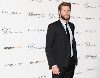 NEW YORK, NY - SEPTEMBER 16:  Actor Liam Hemsworth attends as London Fog presents a New York special screening of 'The Dressmaker' on September 16, 2016 in New York City.  (Photo by Cindy Ord/Getty Images for London Fog)