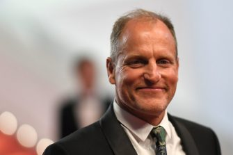 """US actor Woody Harrelson poses as he leaves the Festival Palace on May 15, 2018 after the screening of the film """"Solo : A Star Wars Story"""" at the 71st edition of the Cannes Film Festival in Cannes, southern France. (Photo by LOIC VENANCE / AFP)        (Photo credit should read LOIC VENANCE/AFP via Getty Images)"""
