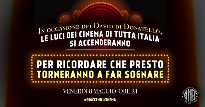 Con i David di Donatello,  la luce del cinema si riaccende