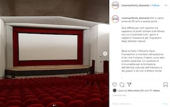 Cinema Vittoria Diamante flashmob riaccendilcinema
