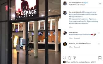 the space cinema genova