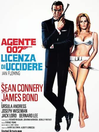 Agente 007 Licenza di uccidere locandina