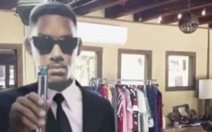 Will Smith e la Wipe It Down Challenge su TikTok in stile Men in Black