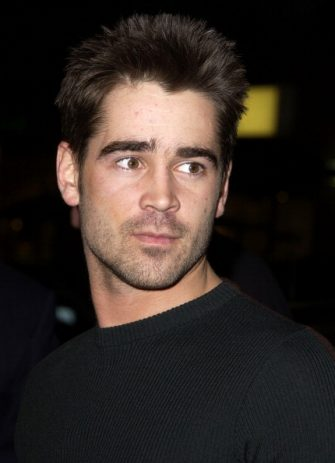 """Colin Farrell during """"Hart's War"""" Premiere at Mann National in Westwood, California, United States. (Photo by SGranitz/WireImage)"""