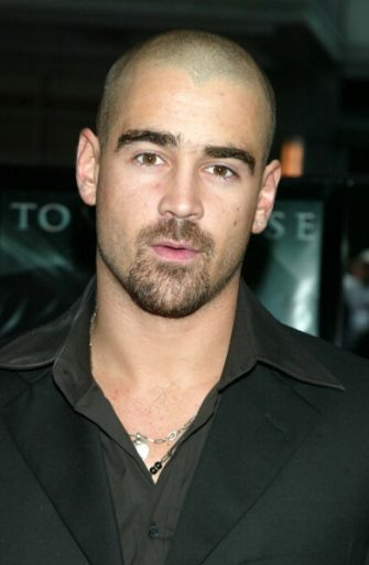 """Colin Farrell during """"Minority Report"""" New York City Premiere at Ziegfeld Theater in New York City, New York, United States. (Photo by Jim Spellman/WireImage)"""
