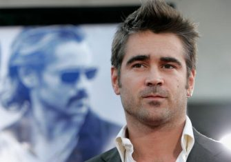 """WESTWOOD, CA - JULY 20:  Actor Colin Farrell arrives at the Universal Pictures premiere of """"Miami Vice"""" held at the Mann's Village Theatre on July 20, 2006 in Westwood, California.  (Photo by Kevin Winter/Getty Images)"""