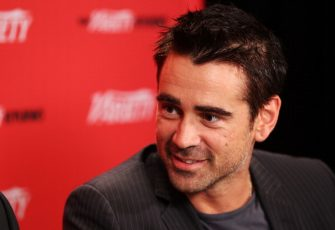 TORONTO, ON - SEPTEMBER 08:  Actor Colin Farrell at Variety Studio presented by Moroccanoil on Day 1  at Holt Renfrew, Toronto during the 2012 Toronto International Film Festival on September 8, 2012 in Toronto, Canada.  (Photo by Joe Scarnici/WireImage)