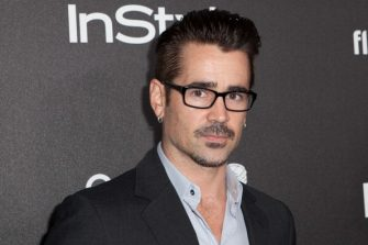 WEST HOLLYWOOD, CA - NOVEMBER 21:  Colin Farrell attends The Hollywood Foreign Press Association (HFPA) And InStyle Celebrates The 2014 Golden Globe Awards Season at Fig & Olive Melrose Place on November 21, 2013 in West Hollywood, California.  (Photo by Gabriel Olsen/Getty Images)