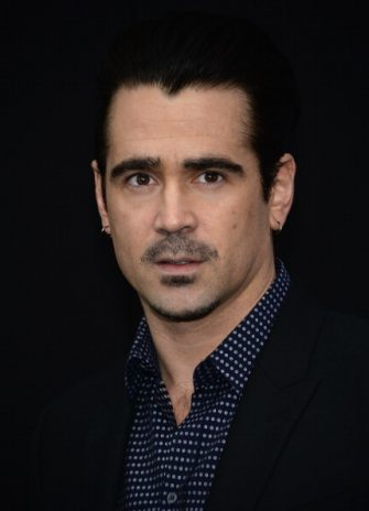 """NEW YORK, NY - FEBRUARY 11:  Colin Farrell attends the """"Winter's Tale"""" world premiere at Ziegfeld Theater on February 11, 2014 in New York City.  (Photo by Dimitrios Kambouris/Getty Images)"""