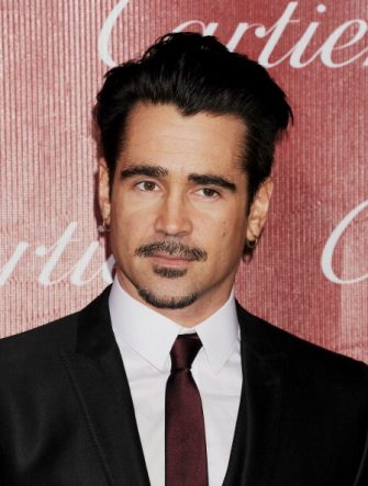 PALM SPRINGS, CA- JANUARY 04: Actor Colin Farrell arrives at the 25th Annual Palm Springs International Film Festival Awards Gala at Palm Springs Convention Center on January 4, 2014 in Palm Springs, California.(Photo by Jeffrey Mayer/WireImage)