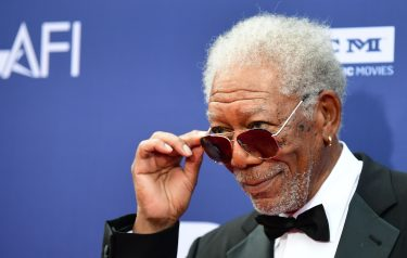 US actor Morgan Freeman arrives for the 47th American Film Institute (AFI) Life Achievement Award Gala at the Dolby theatre in Hollywood on June 6, 2019. (Photo by Frederic J. BROWN / AFP)        (Photo credit should read FREDERIC J. BROWN/AFP via Getty Images)
