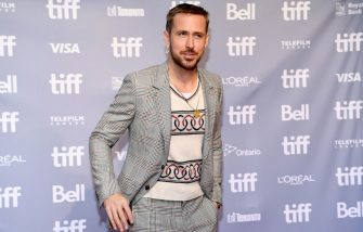 """TORONTO, ON - SEPTEMBER 11:  Ryan Gosling attends the """"First Man"""" press conference during 2018 Toronto International Film Festival at TIFF Bell Lightbox on September 11, 2018 in Toronto, Canada.  (Photo by Emma McIntyre/Getty Images)"""