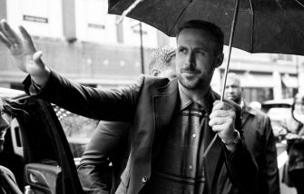 """TORONTO, ON - SEPTEMBER 10:  (EDITORS NOTE: Image has been converted to black and white) Actor Ryan Gosling attends the 2018 Toronto International Film Festival - """"First Man"""" Premiere at The Elgin on September 10, 2018 in Toronto, Canada.  (Photo by Emma McIntyre/SHJ2018/Getty Images for TIFF)"""