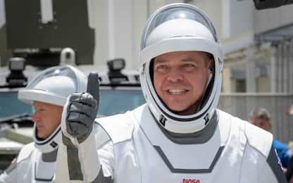SpaceX: le tute degli astronauti disegnate dal costumista di Batman