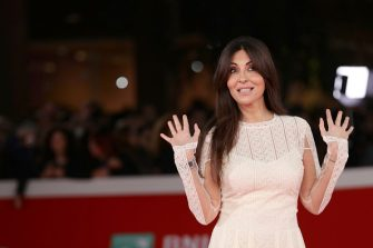 ROME, ITALY - NOVEMBER 04:  Sabrina Ferilli walks a red carpet for 'The Place' during the 12th Rome Film Fest at Auditorium Parco Della Musica on November 4, 2017 in Rome, Italy.  (Photo by Vittorio Zunino Celotto/Getty Images)