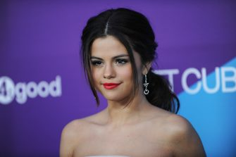 LOS ANGELES, CA - FEBRUARY 27:  Singer/actress Selena Gomez attends the 1st Annual Unite4:humanity Event hosted by Unite4good and Variety  on February 27, 2014 in Los Angeles, California.  (Photo by Allen Berezovsky/WireImage)