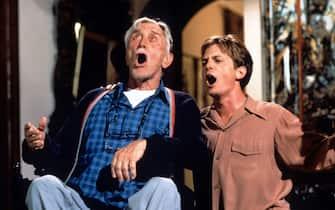 Michael J. Fox Kirk Douglas Caro zio Joe