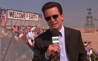 Michael J. Fox Mars Attacks