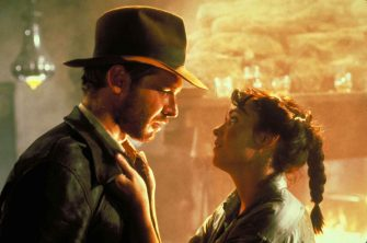 HARRISON FORD as Indiana Jones, KAREN ALLEN as Marion  in Raiders Of The Lost Ark Filmstill - Editorial Use Only Ref: FB sales@capitalpictures.com www.capitalpictures.com Supplied by Capital Pictures
