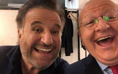 Christian De Sica e Massimo Boldi insieme in un nuovo film a Natale