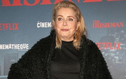 Catherine Deneuve torna sul set per un film dopo l'ictus