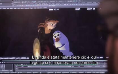 Frozen II: Dietro Le Quinte, fuori il trailer in italiano