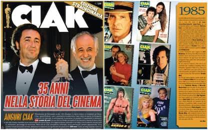 """""""Ciak"""" festeggia 35 anni e passa in rassegna le copertine storiche"""
