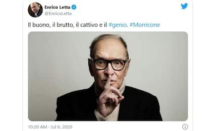 Morricone, omaggi social da Roberto Bolle a Russell Crowe