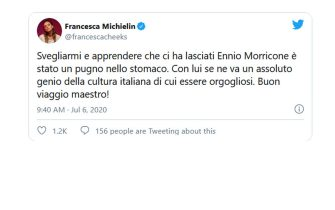 michielin twitter morricone