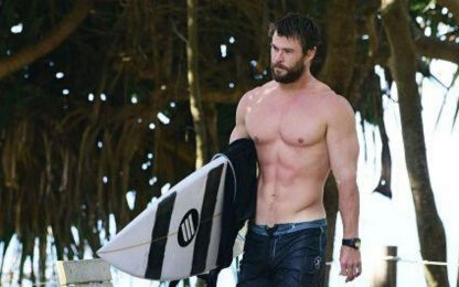 Chris Hemsworth si prepara a trasformarsi in Hulk Hogan