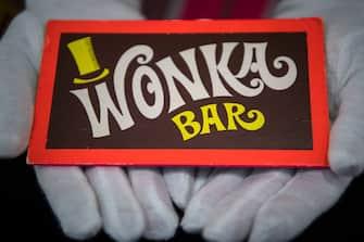 Barretta cioccolato wonka