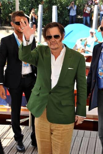 Venezia, 05/09/2015 72 Mostra del cinema nella foto : Johnny Depp ©fotostore