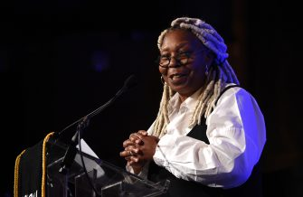 NEW YORK, NEW YORK - JANUARY 08:  Whoopi Goldberg speaks onstage during The National Board of Review Annual Awards Gala at Cipriani 42nd Street on January 08, 2020 in New York City. (Photo by Kevin Mazur/Getty Images for National Board of Review)