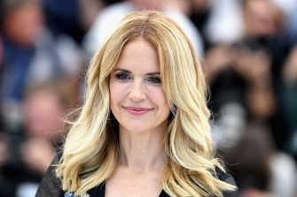 """CANNES, FRANCE - MAY 15:  Kelly Preston attends the photocall for the """"Rendezvous With John Travolta - Gotti"""" during the 71st annual Cannes Film Festival at Palais des Festivals on May 15, 2018 in Cannes, France.  (Photo by Pascal Le Segretain/Getty Images)"""
