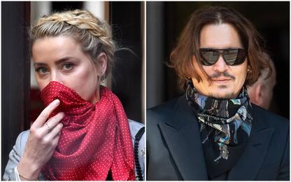 """Le accuse di Amber Heard contro Depp: """"Temevo mi avrebbe uccisa"""""""