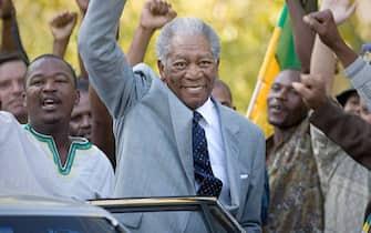 Morgan Freeman Nelson Mandela Invictus