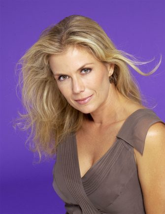 LOS ANGELES - 2004 actress Katherine Kelly Lang poses for a portrait in 2004 in Los Angeles, California. (Photo by Harry Langdon/Getty Images)