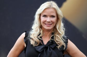 "US actress Katherine Kelly Lang poses during a photocall for the TV show ""The Bold and the Beautiful"" as part of the 57th Monte-Carlo International Television Festival on June 18, 2017 in Monaco.  The Monte-Carlo Television Festival held since 1961, aims at encouraging the new art form of television.   / AFP PHOTO / VALERY HACHE        (Photo credit should read VALERY HACHE/AFP via Getty Images)"