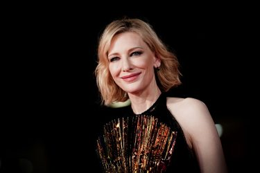 ROME, ITALY - OCTOBER 19:  ( EDITOR NOTE: This image has been altered with digtal filter ) Cate Blanchett walks the red carpet ahead of the 'The House With A Clock In Its Walls' screening during the 13th Rome Film Fest at Auditorium Parco Della Musica on October 19, 2018 in Rome, Italy.  (Photo by Vittorio Zunino Celotto/Getty Images)