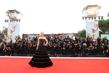 "VENICE, ITALY - AUGUST 31: Cate Blanchett walks the red carpet ahead of the ""Joker"" screening during the 76th Venice Film Festival at Sala Grande on August 31, 2019 in Venice, Italy. (Photo by Tristan Fewings/Getty Images)"