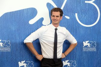 VENICE, ITALY - SEPTEMBER 04:  Andrew Garfield attends a photocall for 'Hacksaw Ridge' during the 73rd Venice Film Festival at Palazzo del Casino on September 4, 2016 in Venice, Italy.  (Photo by Elisabetta A. Villa/WireImage)
